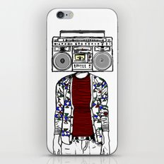 Radio daze iPhone & iPod Skin