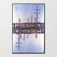 Landscapes c6 (35mm Double Exposure) Canvas Print