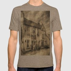 The Bull Pub Theydon Bois Vintage Mens Fitted Tee Tri-Coffee SMALL