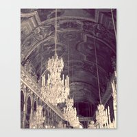 Le Chandelier Canvas Print