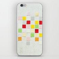 Colour Blocks Papercut iPhone & iPod Skin