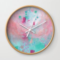 There Are No Vacant Horizons Wall Clock
