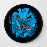 Abyss 2099 Wall Clock