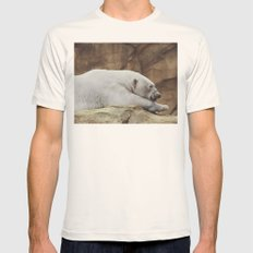 Polar Bear Mens Fitted Tee Natural SMALL