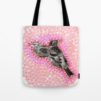 mother bird Tote Bag