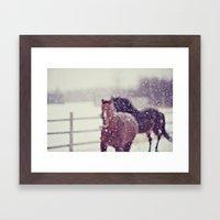 Dream with me Framed Art Print