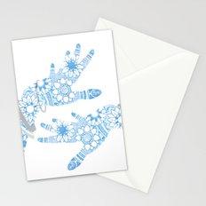 Blue Mehndi Stationery Cards