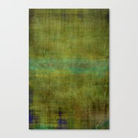 Green Burrows ~ Abstract Canvas Print