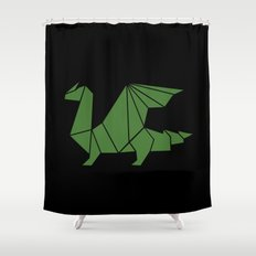 Draconis Shower Curtain