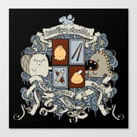 All Doodles Great & Smal… Canvas Print