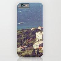 iPhone & iPod Case featuring sea landscape by angelenka