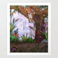 Playtime Art Print