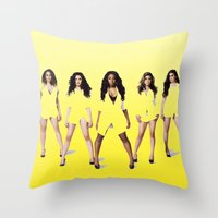 Fifth 3 Throw Pillow