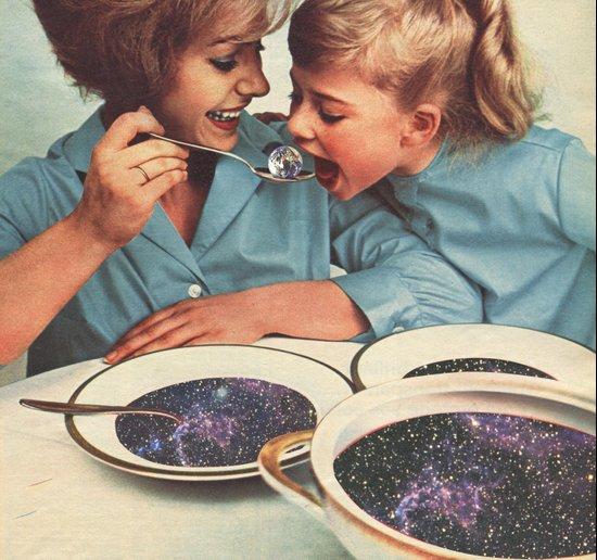 Spacefood Art Print