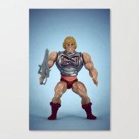 He-Man Battle Damage  Canvas Print
