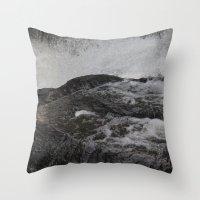 Jones River Falls Throw Pillow