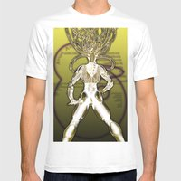 Interface Mens Fitted Tee White SMALL