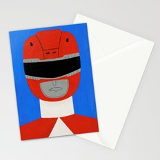 Red Ranger Stationery Cards