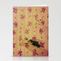 through forest boy mounted on your bird Stationery Cards