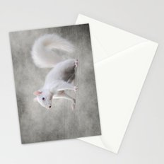 Albino Squirrel Stationery Cards