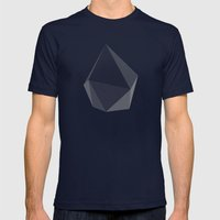 Rock Steady Mens Fitted Tee Navy SMALL