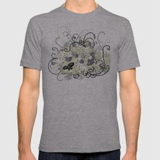 design 55 Mens Fitted Tee Athletic Grey SMALL