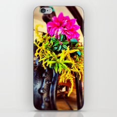 Tools And Flowers II iPhone & iPod Skin