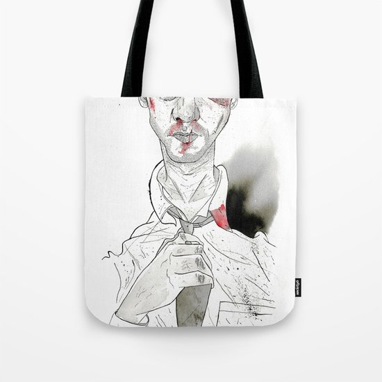 The first rule is- The Narrator Edward Norton Tote Bag