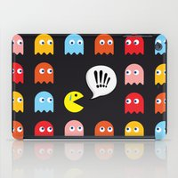 Pac-Man Trapped iPad Case