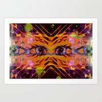 Airplane Lights Art Print