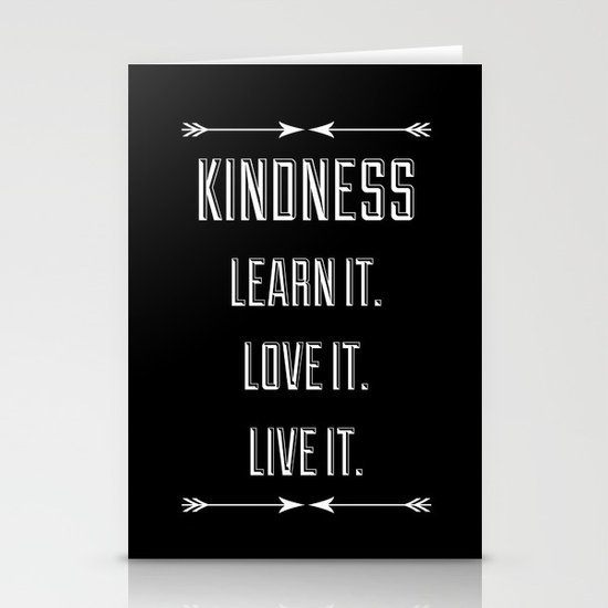 Kindness Stationery Card