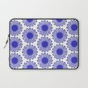 Vintage Flower Blue Laptop Sleeve
