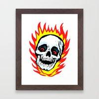 Skull 01 Framed Art Print