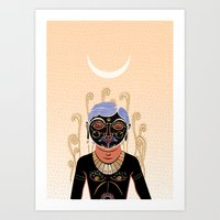 Indian Man Art Print