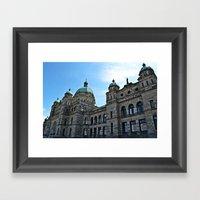 the commons Framed Art Print
