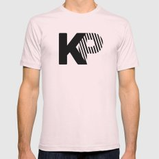 KP Mens Fitted Tee Light Pink SMALL