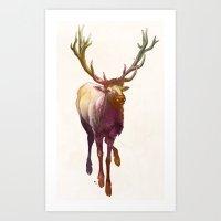 Elkish Art Print
