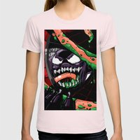 To Catch A Spider (Purple Symbiote) Womens Fitted Tee Light Pink SMALL