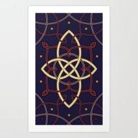 Ostara Tarot I Art Print