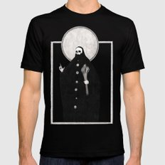 The Tarot of Death Mens Fitted Tee Black SMALL
