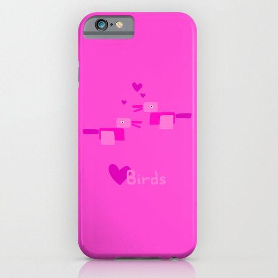 Love Birds-Pink iPhone & iPod Case