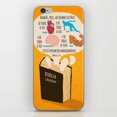 Marcos 12:30 iPhone & iPod Skin