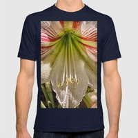 Beautiful Amaryllis Hipp… Mens Fitted Tee Navy SMALL
