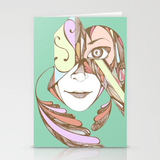 Rococolla Stationery Card