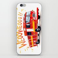 VROOOM iPhone & iPod Skin
