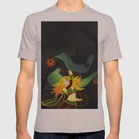 Superhero Mens Fitted Tee Cinder SMALL