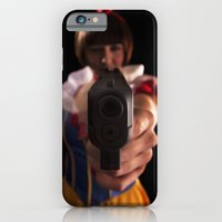 iPhone & iPod Case featuring Snow White - Packin' #2 by SIMpixels