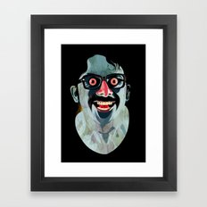 Portrait of Alonso Quijada Framed Art Print