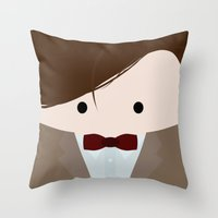Doctor Who 11  Throw Pillow