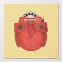 Owl-Master Canvas Print